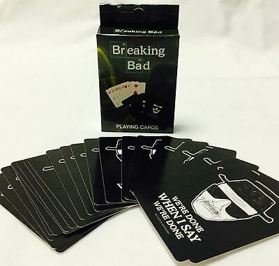 Breaking Bad Playing Cards. Brand New Official Merchandise