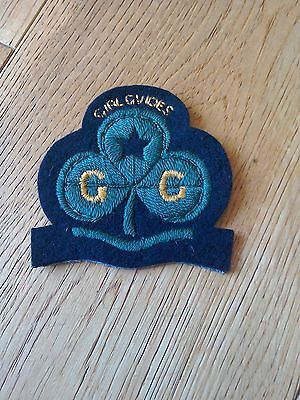 Girl Guide blazer badge patch rare