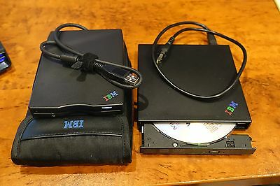 IBM DVD drive and 1.44MB floppy disk drive