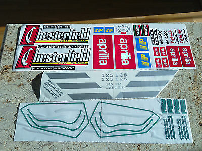 Aprilia Rs 125 Chesterfield Graphics Stickers Vinyls Decals