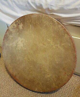 Shamanic drum. Red deer skin. Handmade