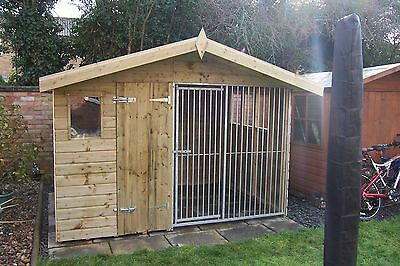 Dog Kennel and run BAR CHALET     -    From £500