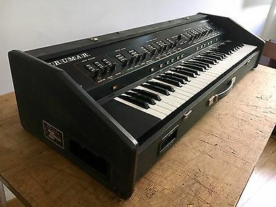 CRUMAR Multiman -S Synth Sting Machine italian Vintage