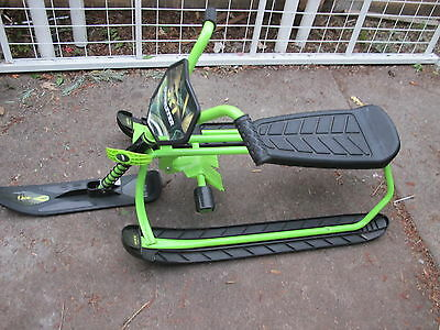Snow Runner SR1 snow bike KIDS Sledge  Toboggan