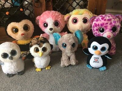 Ty Beanie Boo Bundle Sting Blossom Hope For Japan Spells