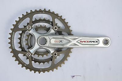 Raceface Evolve XC Chainset with Middleburn Chainrings Race Face Cranks Crankset