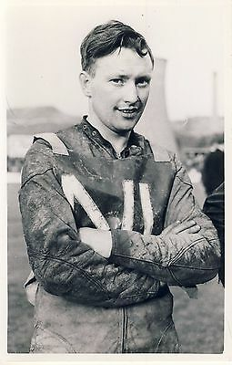 Speedway Photograph-Peter Kelly Newcastle Rider  (SP481)