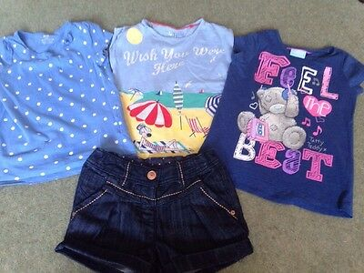 Bundle Of Girls Clothes 4-5 Next And Other Makes
