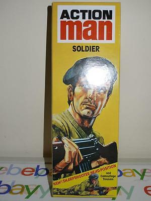 Action Man 40th Reissue Eagle Eyes Soldier With Accessories and Documents Blonde