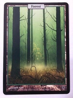Forest Unhinged Full Art Magic the Gathering MTG NM