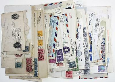 USA Covers, Cards etc Early to Modern. Postal History etc. Fronts & Backs Shown