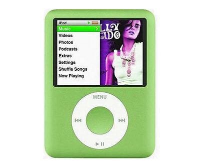 Mp4 Holiday Con Display Verde Mp3/fm