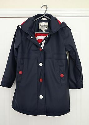 Hatley Girls Coat Aged 6 Navy