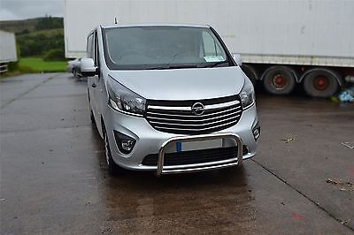 2014+ Renault Trafic S/S Low Front Bull Bar Abar Nudge