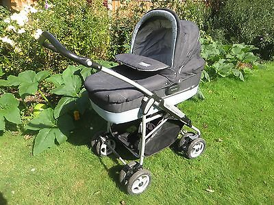 Mamas and Papas MPX Travel System 3-in-1 Pram, Pushchair & Car Seat