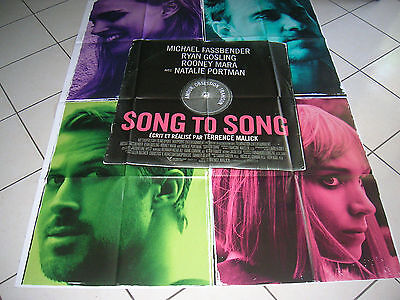 """Affiche Cinema 120X160 """"song To Song"""""""