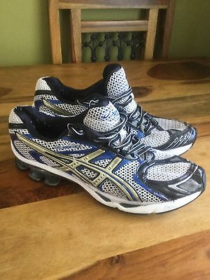 Asics Gel Kinetic 3 Mens Running Trainers,size 10,used,