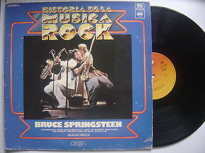 BRUCE SPRINGSTEEN born to run SPANISH LP CBS / ORBIS 1975 only cover