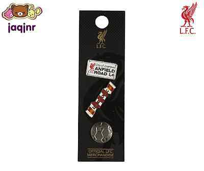Official Liverpool FC Store - LFC TRIPLE PIN BADGE SET *New*