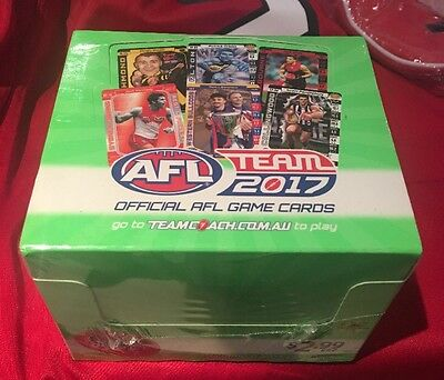 2017 Afl Teamcoach Team Coach Sealed Box **weekend Special**