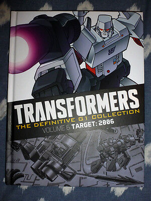 Transformers Definitive Collection issue 1 Target 2006 misprinted spine Hachette