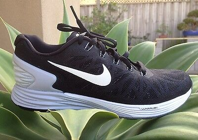 Ex Cond Womens Nike Lunarglide 6 Running Trainers Sneakers Sports Shoes Size 7