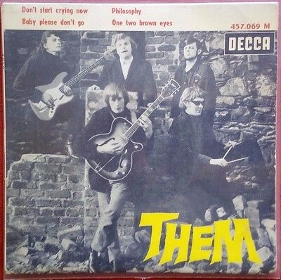 THEM - Don't Start Crying Now - MEGA RARE FRENCH EP, BEAT !!!