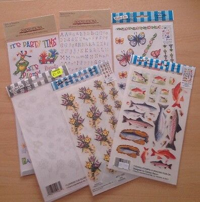 rub on transfers for card making and scrapbooking