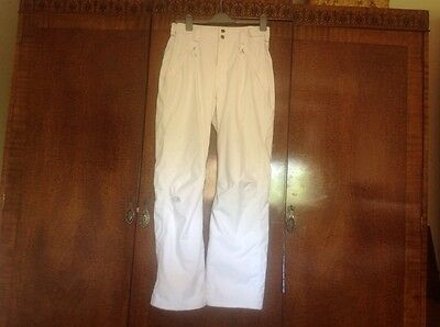 ladies north face ski/snowboard trousers size L