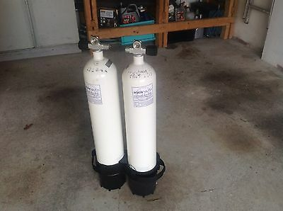 scuba diving cylinders