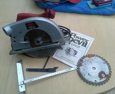 Power Devil Circular Saw with Spare Blade