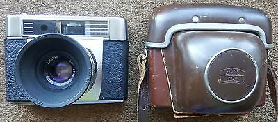 ZIESS IKON CONTESSA LKE RANGEFINDER CAMERA 50mm f2.8 ZEISS TESSAR LENS AND CASE