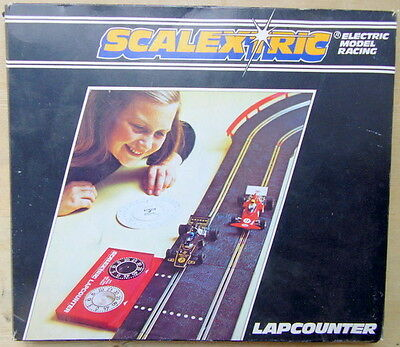 Vintage Scalextric C277 Lap Counter Boxed FREE UK P/P