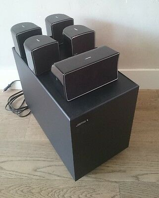 Jamo A102 HCS 6 speakerset 5.1 Lautsprecher Subwoofer Aktiv SUB 200 speakers