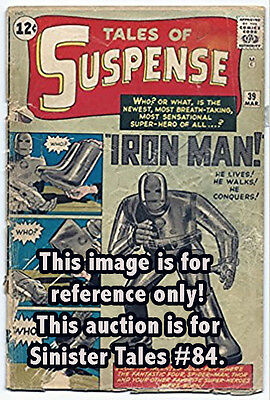 Tales Of Suspense #39~Sinister Tales #84~Signed Larry Lieber~Marvel Comics Uk