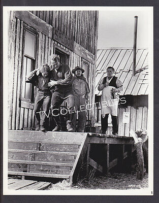 Press Photo~ WELCOME TO HARD TIMES ~1967 ~Michael Shea ~Paul Birch ~Lon Chaney