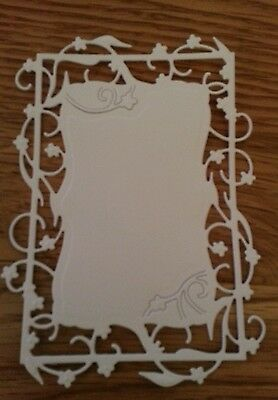 6 x TONIC DIE CUTS FLORAL FRAME Great for Any Occassion card toppers