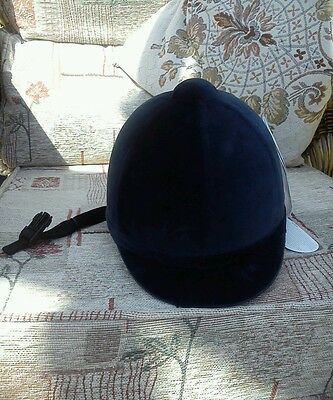 Charles Owen Young Riders Velvet Hat Size 6 1/2 /53