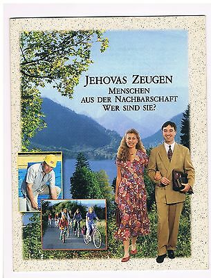Watch Tower - Your Neighbors, Jehovah's Witnesses, Who Are They? (1995 edition)
