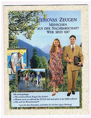 Watch Tower - Your Neighbors, Jehovah's Witnesses, Who Are They? (1996 edition)
