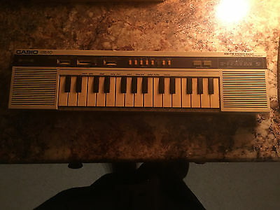 Extremely Rare Classic Casio CK-10 Synthesizer. Perfect For Circuit Bent.