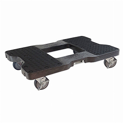 New SNAP-LOC DOLLY BLACK (USA!) with 1500 lb Capacity Steel Frame 4 inch Casters