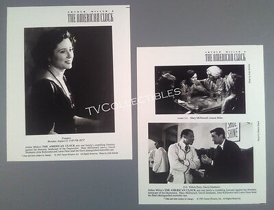 Photo Lot~ THE AMERICAN CLOCK ~1993 ~Mary McDonnell ~Joanna Miles ~Felton Perry