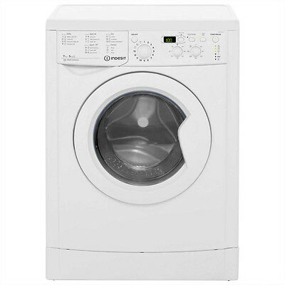 INDESIT IWDD7143 Washer Dryer - White - UNDER 1Yr OLD