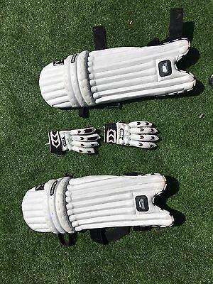 Cricket Pads And Gloves Junior