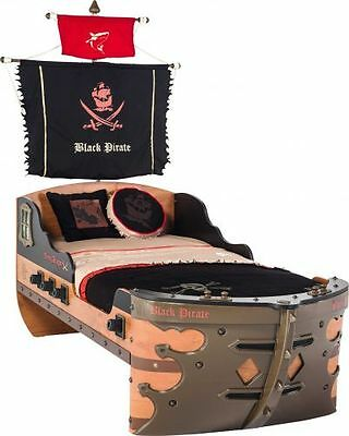 Cilek Black Pirate Piratenschiff Bett 90x190 cm