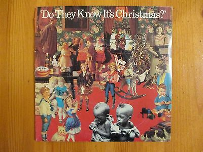 """Band Aid - Do They Know It's Christmas? - 7"""" Single Vinyl Record"""