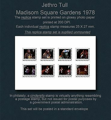 Jethro Tull Madison Square Replica Stamp Set