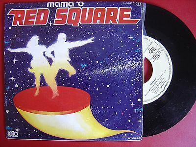 VANGELIS*MAMA O*red square SPAIN PROMO 45 CFE 78*COSMIC DISCO*w/ promo sheet*M-