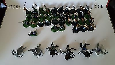 Mixed Lord Of The Rings Numenor and Rohan Painted Figures Games Workshop Citadel